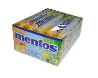 Mentos - Pinacolada Mojito, by Perfetti Van Melle,  and more Confectionery at The Professors Online Lolly Shop. (Image Number :4949)