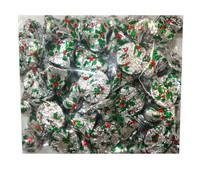 Chocolate Gems - Chocolate Bells - Holly, by Chocolate Gems,  and more Confectionery at The Professors Online Lolly Shop. (Image Number :10307)