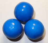 Gumballs - Blue, by Oak Leaf Confections,  and more Confectionery at The Professors Online Lolly Shop. (Image Number :5289)