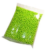 Pearls - Shimmer Lime Green, by Oak Leaf Confections,  and more Confectionery at The Professors Online Lolly Shop. (Image Number :5284)