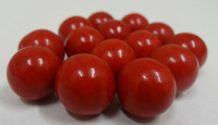 Fruit Choc Balls - Raspberry Red, by Confectionery House,  and more Confectionery at The Professors Online Lolly Shop. (Image Number :5233)