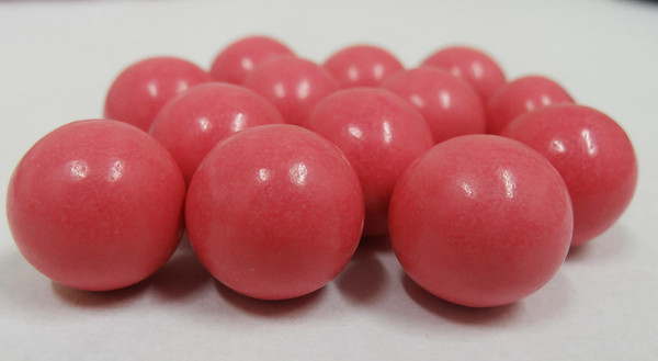 Fruit Choc Balls - Strawberry Pink, by Confectionery House,  and more Confectionery at The Professors Online Lolly Shop. (Image Number :5231)