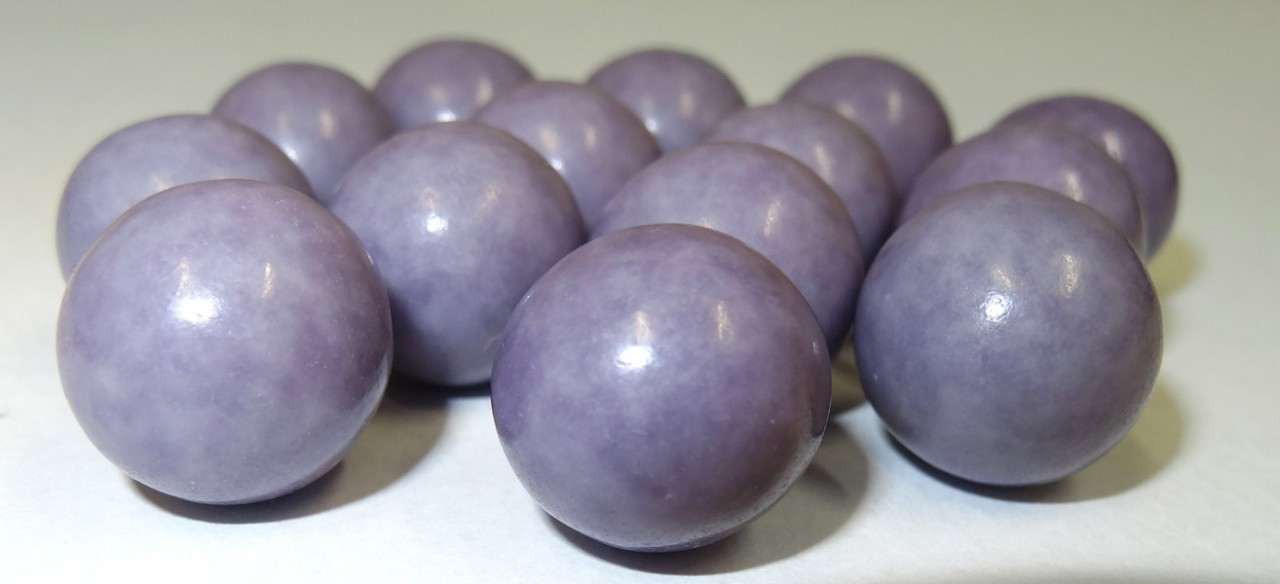 Fruit Choc Balls - Pineapple Purple, by Confectionery House,  and more Confectionery at The Professors Online Lolly Shop. (Image Number :5226)