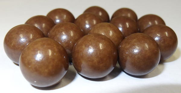 Fruit Choc Balls - Vanilla Brown, by Confectionery House,  and more Confectionery at The Professors Online Lolly Shop. (Image Number :5240)