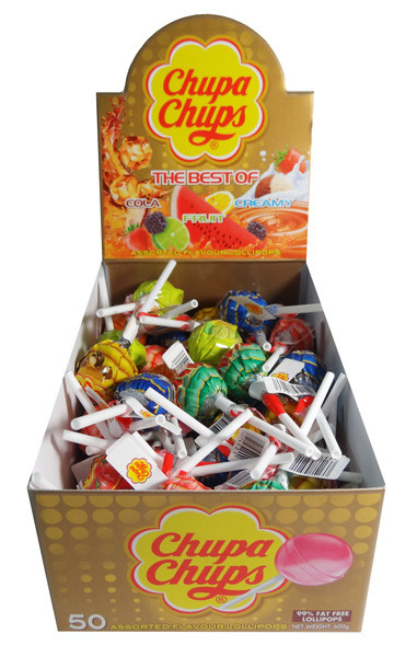 Chupa Chups - Best Of, by Perfetti Van Melle,  and more Confectionery at The Professors Online Lolly Shop. (Image Number :7126)