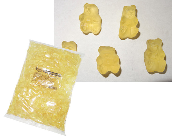 Bulk Gummi Bears Poppin  Pineapple, by Albanese Confectionery/Other,  and more Confectionery at The Professors Online Lolly Shop. (Image Number :6168)