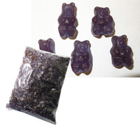 Albanses Bulk Gummi Bears Concord Grape, by Albanese Confectionery/Other,  and more Confectionery at The Professors Online Lolly Shop. (Image Number :6173)