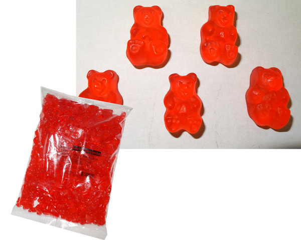 Albanese Bulk Gummi Bears Fresh Strawberry, by Albanese Confectionery/Other,  and more Confectionery at The Professors Online Lolly Shop. (Image Number :6170)