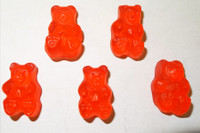 Gummi Bears Ripe Watermelon, by Albanese Confectionery/Other,  and more Confectionery at The Professors Online Lolly Shop. (Image Number :6174)