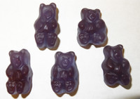 Gummi Bears Concord Grape, by Albanese Confectionery/Other,  and more Confectionery at The Professors Online Lolly Shop. (Image Number :5857)