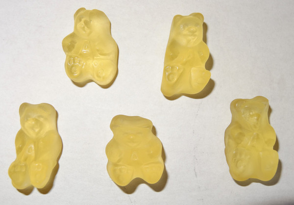 Albanese Gummi Bears Poppin  Pineapple, by Albanese Confectionery/Other,  and more Confectionery at The Professors Online Lolly Shop. (Image Number :5352)