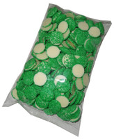 White Choc Sparkles - Green, by Confectionery Trading Company/Hugos Confectionery,  and more Confectionery at The Professors Online Lolly Shop. (Image Number :5447)