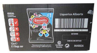 Bassetts Liquorice Allsorts, by Cadbury,  and more Confectionery at The Professors Online Lolly Shop. (Image Number :6181)