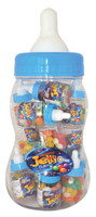 Baby Bottle Jelly Beans - Blue - Assorted Colour Jelly Beans, by Universal Candy,  and more Confectionery at The Professors Online Lolly Shop. (Image Number :7367)