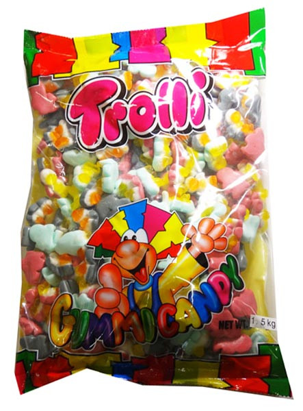 Trolli Pingummi, by Trolli,  and more Confectionery at The Professors Online Lolly Shop. (Image Number :7899)