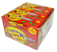 Hubba Bubba Soft Bubble Gum - Strawberry, by Wrigley,  and more Confectionery at The Professors Online Lolly Shop. (Image Number :8347)