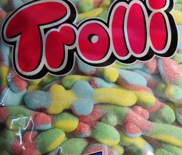 Trolli Sour Lizards, by Trolli,  and more Confectionery at The Professors Online Lolly Shop. (Image Number :7868)