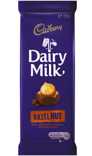 Cadbury Hazelnut Block, by Cadbury,  and more Confectionery at The Professors Online Lolly Shop. (Image Number :9284)