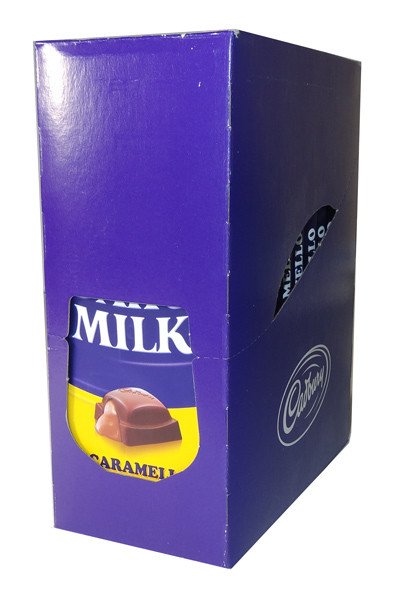 Cadbury Caramello Block, by Cadbury,  and more Confectionery at The Professors Online Lolly Shop. (Image Number :5904)