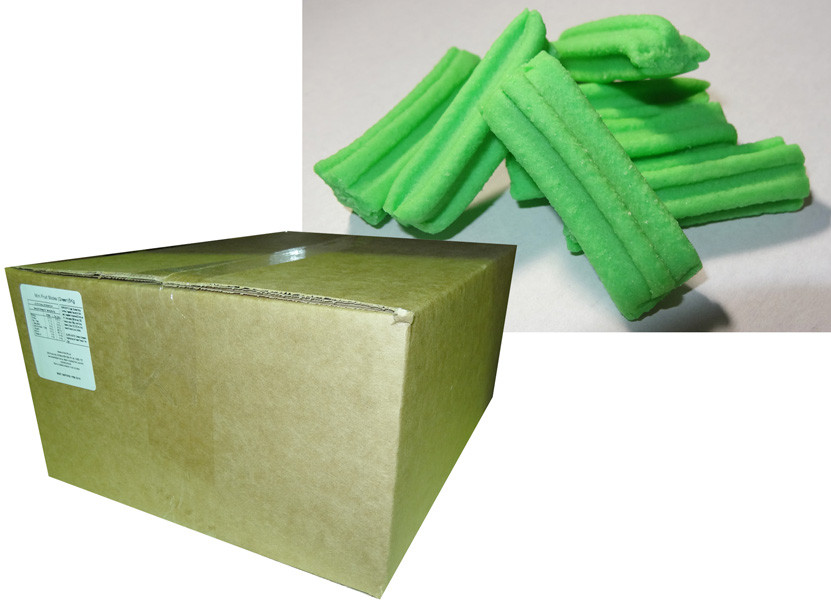 Fruit Sticks Minis - Green, by Other/Sweets of Gold,  and more Confectionery at The Professors Online Lolly Shop. (Image Number :7415)