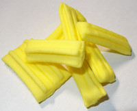 Fruit Sticks Minis - Yellow Lemon, by Other/Sweets of Gold,  and more Confectionery at The Professors Online Lolly Shop. (Image Number :5444)