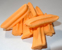 Fruit Sticks Minis - Orange, by Other/Sweets of Gold,  and more Confectionery at The Professors Online Lolly Shop. (Image Number :5442)