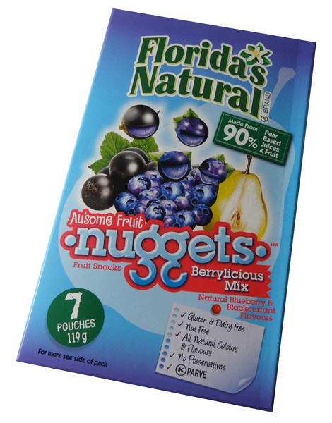 Florida S Natural Fruit Snacks Berrylicious Nuggets
