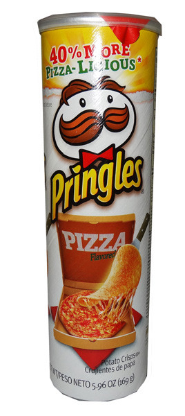 Pringles - Pizza, by Pringles,  and more Snack Foods at The Professors Online Lolly Shop. (Image Number :6526)