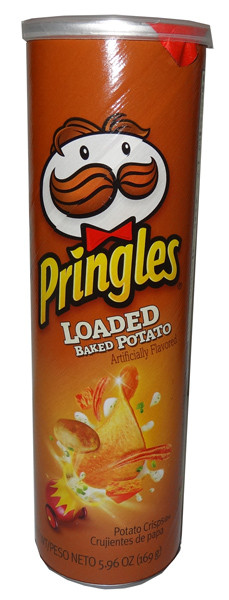 Pringles - Baked Potato, by Pringles,  and more Snack Foods at The Professors Online Lolly Shop. (Image Number :6446)