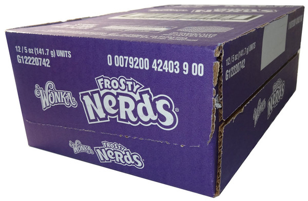 Frosty Nerds - Theatre box, by Wonka,  and more Confectionery at The Professors Online Lolly Shop. (Image Number :6136)