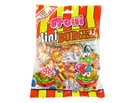 Trolli Mini Burgers, by Trolli,  and more Confectionery at The Professors Online Lolly Shop. (Image Number :5582)