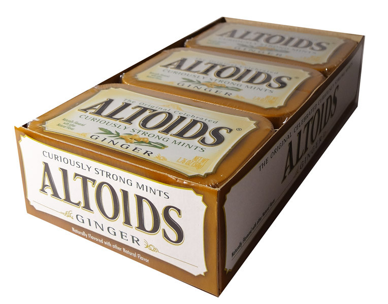 Altoids Ginger, by Altoids,  and more Confectionery at The Professors Online Lolly Shop. (Image Number :5851)