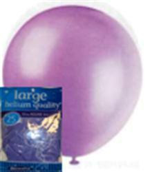 Balloons - Lavender, by Meteor,  and more Partyware at The Professors Online Lolly Shop. (Image Number :6383)