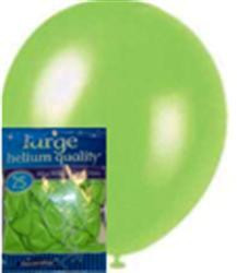 Balloons - Lime Green, by Meteor,  and more Partyware at The Professors Online Lolly Shop. (Image Number :6376)