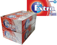 Extra Gum - Strawberry Flavour, by Wrigley,  and more Confectionery at The Professors Online Lolly Shop. (Image Number :7982)