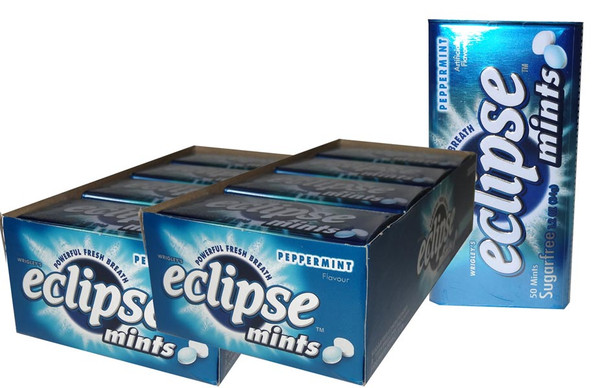 Eclipse Mints Peppermint, by Wrigley,  and more Confectionery at The Professors Online Lolly Shop. (Image Number :6494)