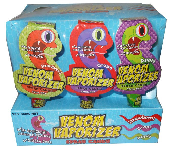 Lollinauts Venom Vaporiser, by Lollinauts,  and more Confectionery at The Professors Online Lolly Shop. (Image Number :6341)
