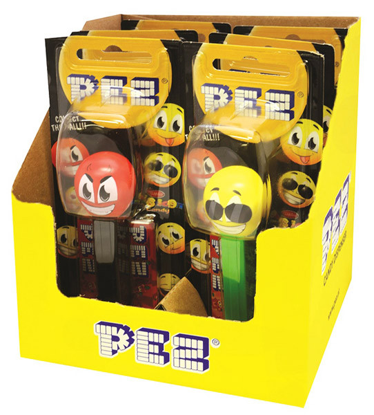 Pez Candy Dispensers - Emoticons, by Pez,  and more Confectionery at The Professors Online Lolly Shop. (Image Number :6964)