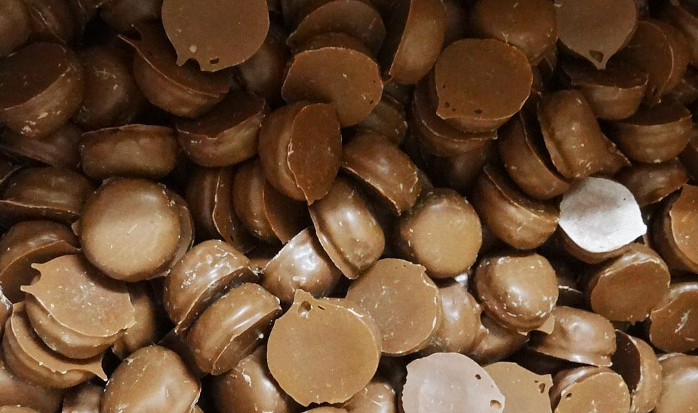 Milk Choc Orange Creams, by Colonial Confectionery,  and more Confectionery at The Professors Online Lolly Shop. (Image Number :6832)