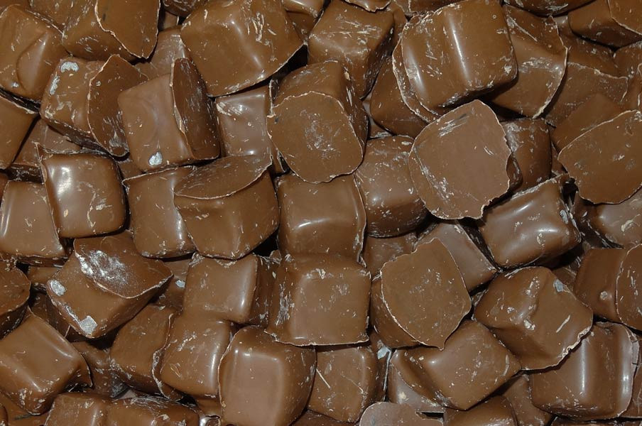 Milk Choc Turkish Delight, by Colonial Confectionery,  and more Confectionery at The Professors Online Lolly Shop. (Image Number :7474)