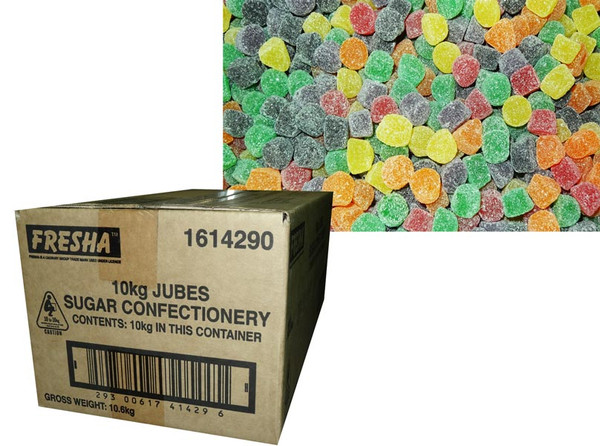 Cadbury Fresha Jubes, by Cadbury Fresha,  and more Confectionery at The Professors Online Lolly Shop. (Image Number :6528)