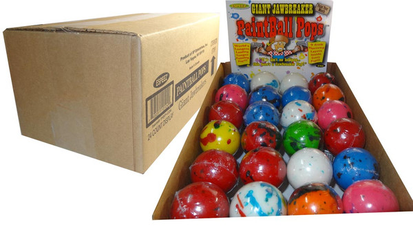 Giant Paintball Pops, by Other,  and more Confectionery at The Professors Online Lolly Shop. (Image Number :6480)
