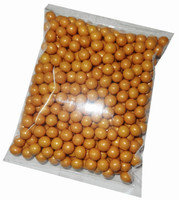 Shimmer Choc Balls - Gold, by Confectionery House,  and more Confectionery at The Professors Online Lolly Shop. (Image Number :6579)