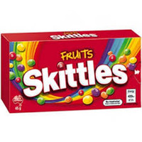 Skittles Fruits, by Mars,  and more Confectionery at The Professors Online Lolly Shop. (Image Number :6582)