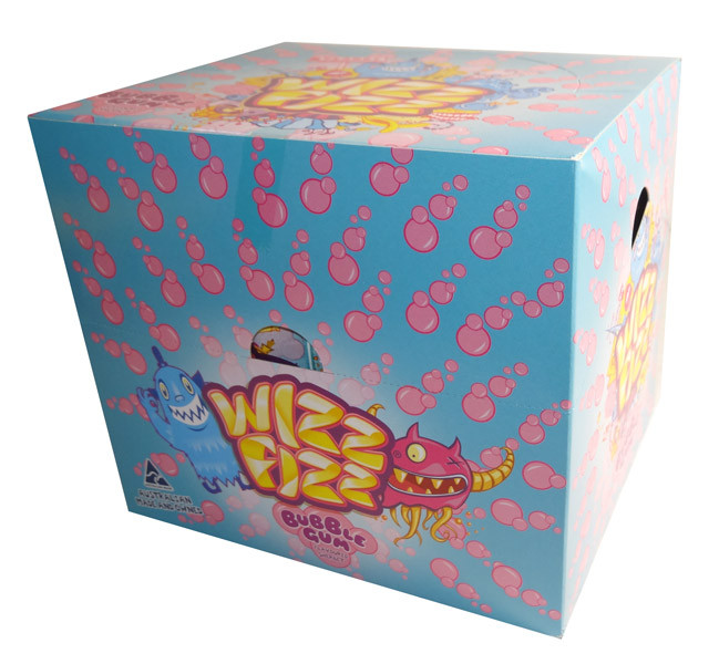 Wizz Fizz Flavoured Sherbet - Bubble Gum Flavour, by Fyna Foods,  and more Confectionery at The Professors Online Lolly Shop. (Image Number :7159)