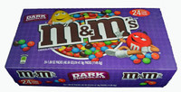 M&M Dark Chocolate Candies, by Mars,  and more Confectionery at The Professors Online Lolly Shop. (Image Number :6975)