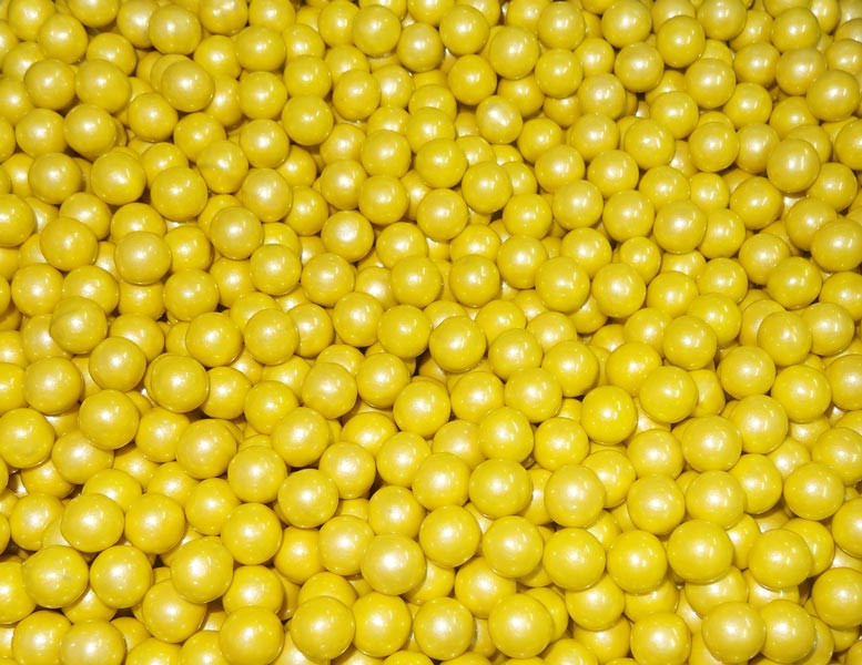 Sixlets - Shimmer Yellow, by Sixlets,  and more Confectionery at The Professors Online Lolly Shop. (Image Number :6858)