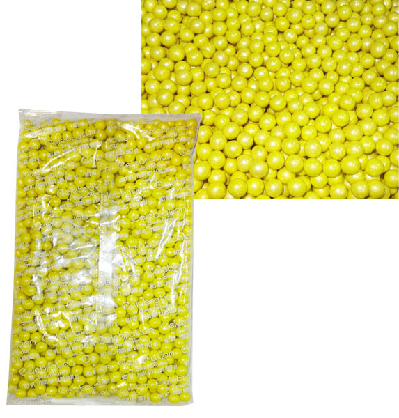 Sixlets - Shimmer Yellow, by Sixlets,  and more Confectionery at The Professors Online Lolly Shop. (Image Number :8221)