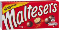 Mars Maltesers King Share, by Mars,  and more Confectionery at The Professors Online Lolly Shop. (Image Number :6887)