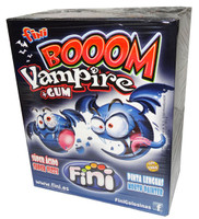 Fini Boom Vampire Bubblegum, by Fini,  and more Confectionery at The Professors Online Lolly Shop. (Image Number :6960)